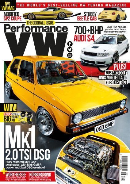 Performance VW - August 2017