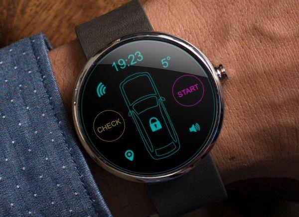 Lancement officiel de la montre connectée Moto 360