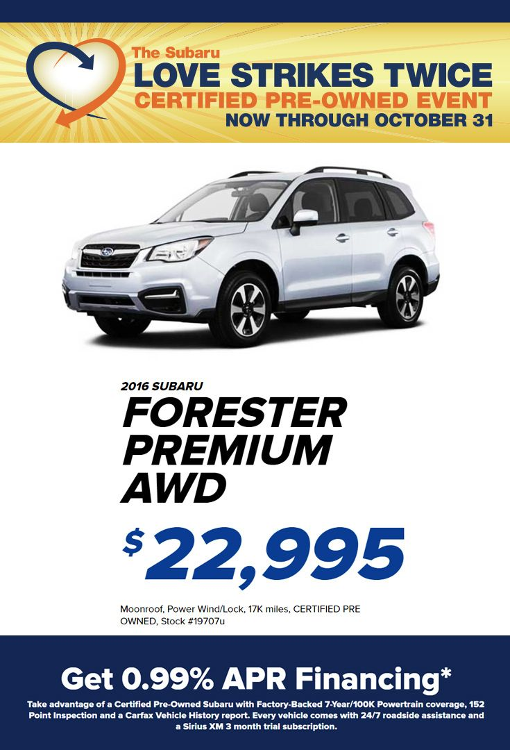 Looking For A Pre Owned Car Stop In To Hassett Subaru This Weekend For Some Amazing Deals On Many Certified Pre Owned With Images Subaru Certified Pre Owned Subaru Models