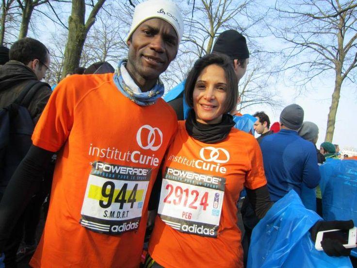"""Semi Marathon de Paris 2017 (5 mars) : 25ème édition. Ronald Tintin, Super Professeur et Ronning Against Cancer sur le parcours pour une course solidaire en soutenant la lutte contre la cancer sous les couleurs de l'institut Curie  http://www.ronaldtintin.com/182.html    Marathonien et Ecrivain Ronald Tintin, Fondateur du projet """"Ronning Against Cancer""""  #motivation #SemiParis #halfmarathon #Paris #SMDRT #WorldCancerDay #InstitutCurie #Charity #Health #CancerCharity #RonaldTintin #DoGood"""