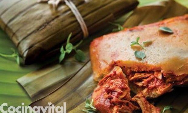 Tamales veracruzanos Encuentra la receta completa en www.cocinavital.mx