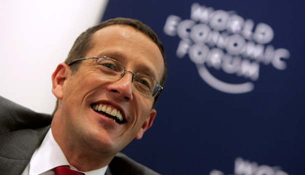Richard Quest. Quirky charm and intelligence.