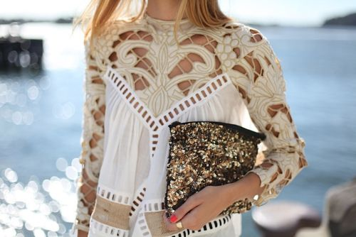 doily clothes = LOVE.