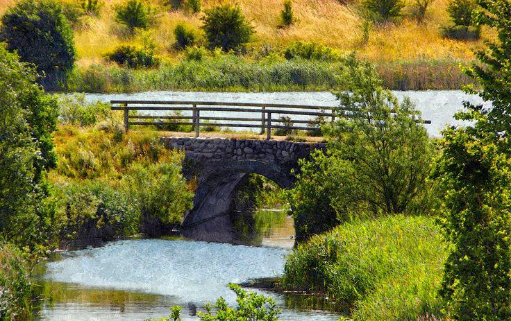 Hedeland: Broen ved Flintesøen