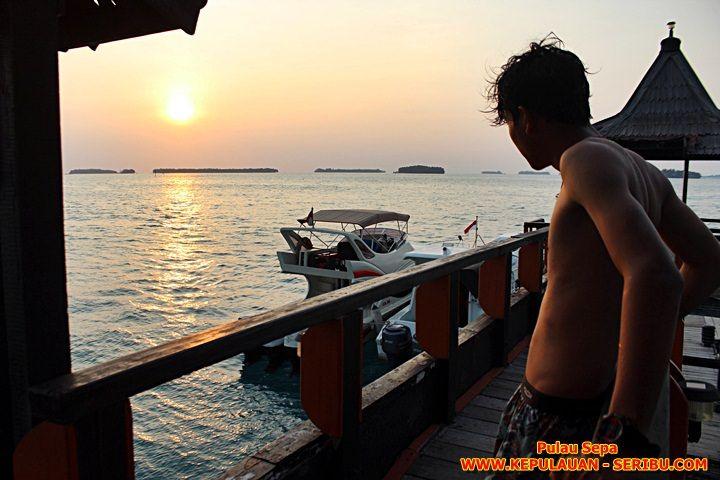 Sunset Pulau Sepa