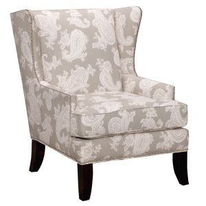 wing-back Living Room chairs..