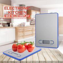 5 kg 1g display lcd balanza digital electronic herramienta con bajo consumo de alimento de la cocina postal de peso para el restaurante de la casa bar(China (Mainland))