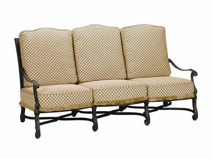 Landgrave Villa Cast Aluminum Sofa | 33368C