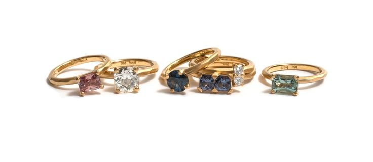 Two years in the making... Krista McRae has been toiling away on a collection of some 50 rings that make up the 'Soul Mate' collection. This new body of work ma