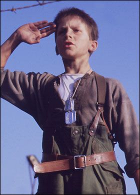 Empire of the Sun - Christian Bale was a child star in this beautifully written and photographed movie. Also starring John Malkovich.