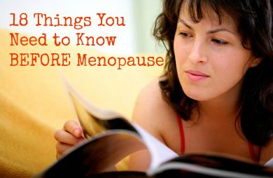 Don't wait until menopause to read this list!