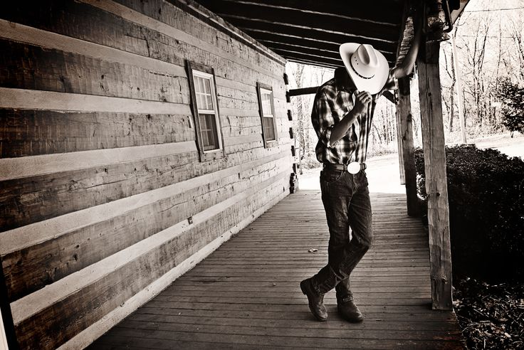 Hard to believe this was a senior picture but it was! It soooo could have been a country western album cover!!!