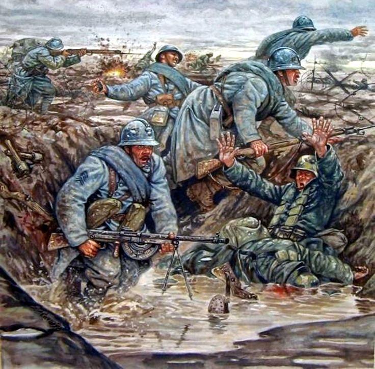 Pinturas de la Gran Guerra 1914-1918 : Photo