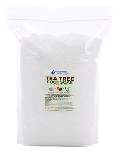 Tea Tree Oil Foot Soak 12 Pounds Bulk Size  Free Priority Shipping  Epsom Salt With Tea Tree Essential Oil  Vitamin C  No Perfumes No Dyes  Relieve Athletes Foot Nail Fungus  Foot Odor -- Check out the image by visiting the link.