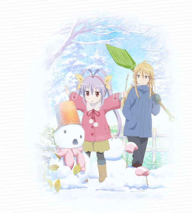 "Staff and nano.RIPE Return for ""Non Non Biyori Repeat"""