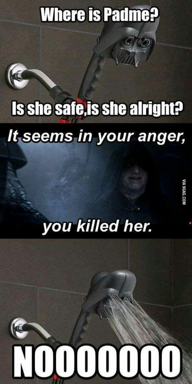 Shower Wars.