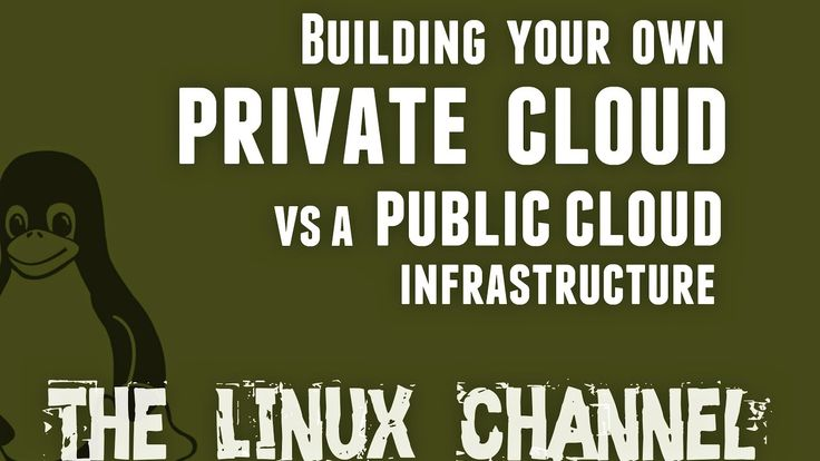 Building your own private cloud vs a public cloud infrastructure and Yah...