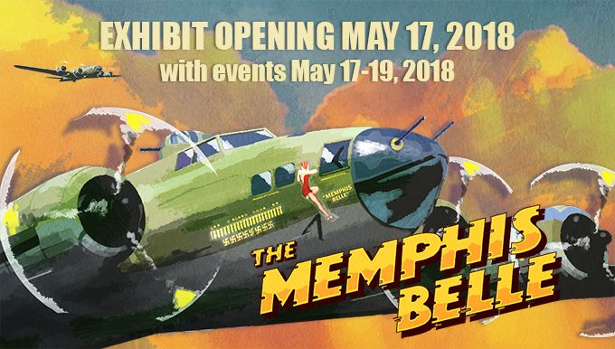 The famed B-17F Memphis Belle™ and its crew became iconic symbols of the heavy bomber crews and support personnel who helped defeat Nazi Germany. The Memphis Belle™ was the first U.S. Army Air Forces heavy bomber to return to the United States after completing 25 combat missions over Europe during World War II. The USAAF chose the aircraft for a highly-publicized war bond tour from June-August 1943, and its crew was celebrated as national heroes.