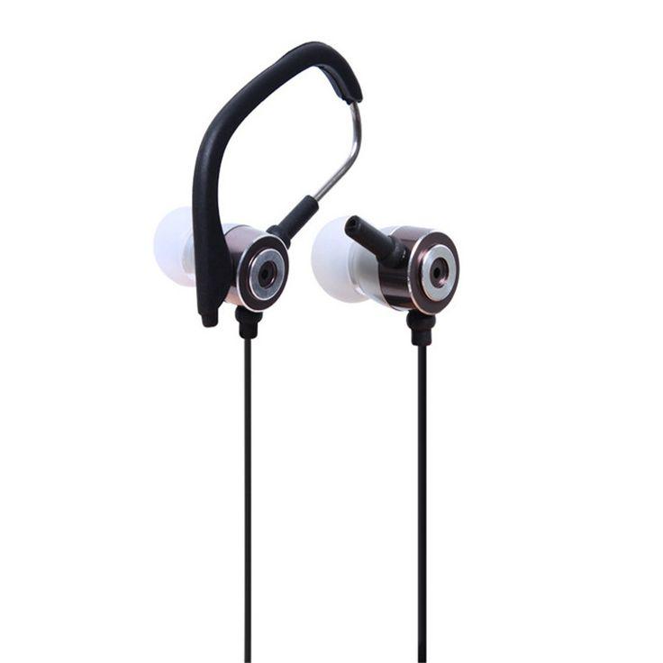 Factory Price Binmer 3.5mm In Ear Clip On Sport W/ Mic Stereo Earphone Jogging Fone de ouvido jy26 Drop Shipping #Affiliate