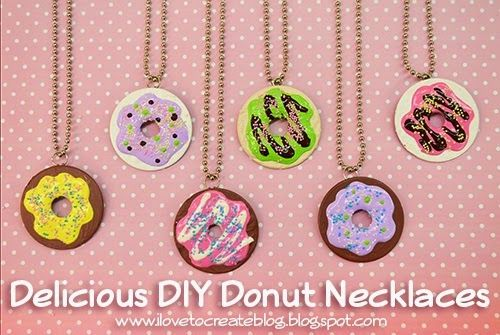 Being the true foodie that I am I thought it would be fun to make some yummy donut pendants using puffy paint and metal washers. I've ...