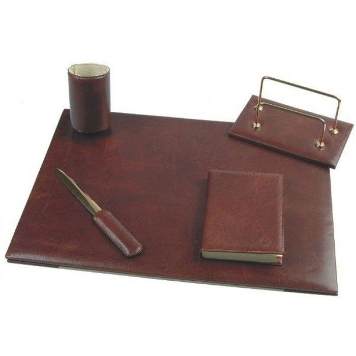 Chiarugi, leather accessories, c1500, exclusive leather table set, business accessory, gift item.