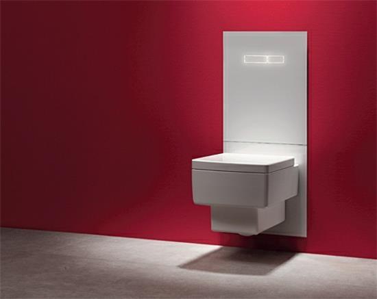 Hi-Tech Badezimmer Ausstattung - ultra modernes WC-Terminal von TECE
