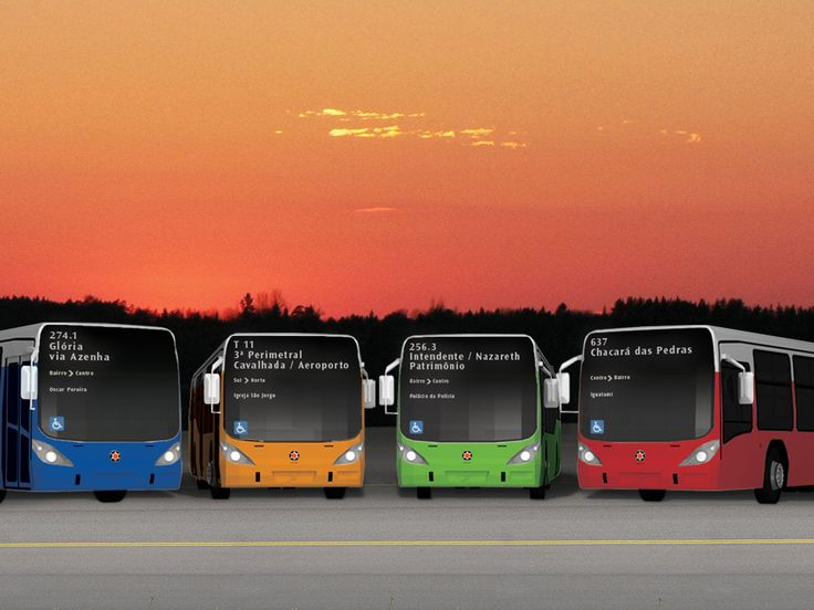 ESTUDANTE | CATEGORIA: PROJETO CONCEITO | MENÇÃO HONROSA | Projeto de Comunicação Visual para os Ônibus de Porto Alegre (Lucas Camargo Benfica - UNIRITTER)