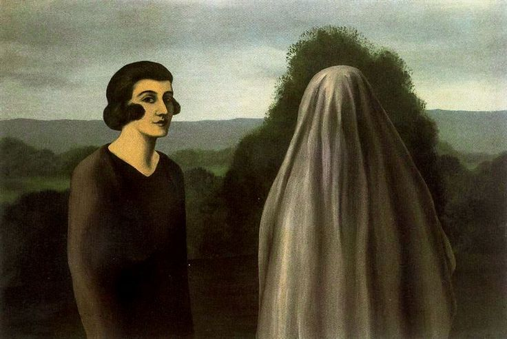 The Invention of Life, 1928 by Rene Magritte  #magritte #paintings #art