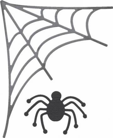 """Quickutz/Lifestyle Crafts """"Spiderweb"""" REV-0235 by Chayestamp for $6.10"""