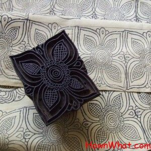 How to make a Block printing Dye:  Things required for block printing will be as follow:  Pencil, tracing paper, carbon paper, permanent marker, linoleum wood blocks, a craft knife, a small roller for ink, color ink, ink tray, solid color fabric, iron.