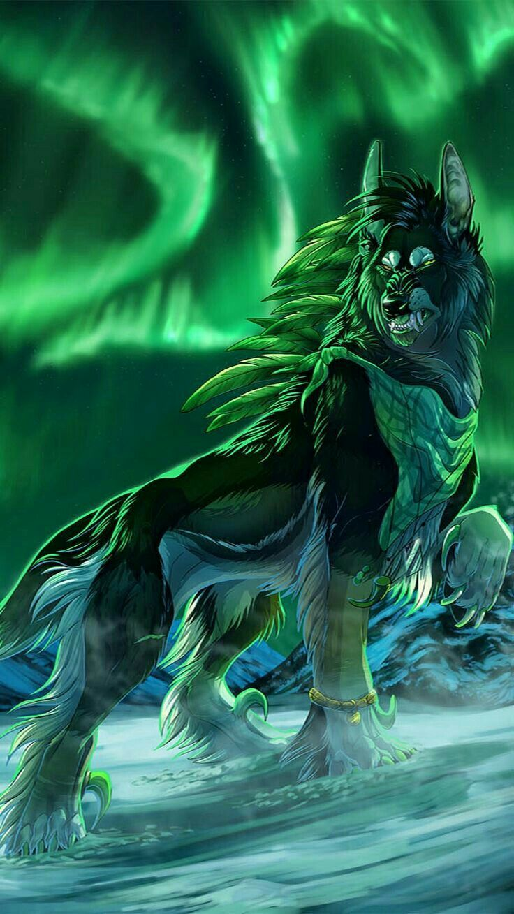 Wolves image by Karen Stine Wolf art, Fantasy wolf