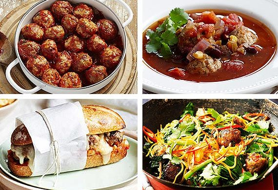 We don't know if you'd describe them as a versatile food but there sure are plenty of tasty ways to enjoy meatballs. Throw together your favourite minced meats and spices with some breadcrumbs and it's not long before you've got yourself a generous morsel to serve with zesty sauces from around the world. Here are some of our favourites.