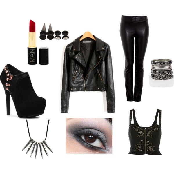Vyctorya Swallow (vswallow) on Pinterest - biker chick halloween costume ideas