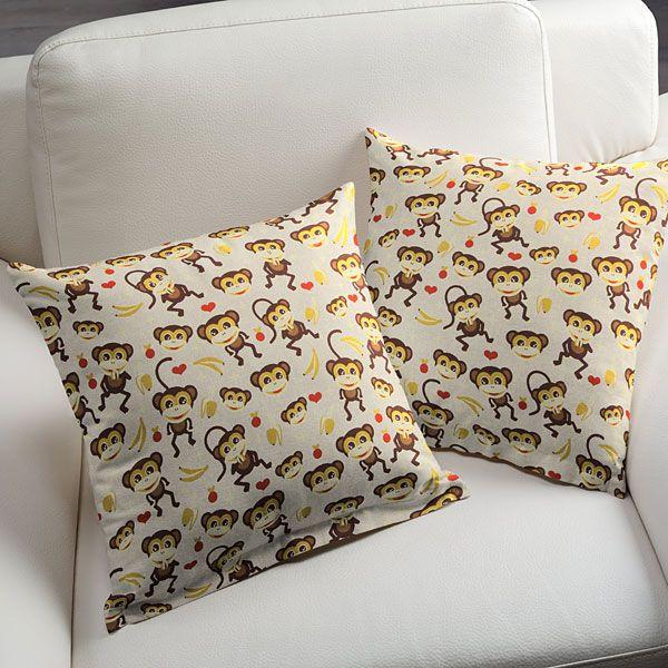 Półpanama Małpka - Tkaniny dekoracyjne zwierzętafavorable buying at our shop