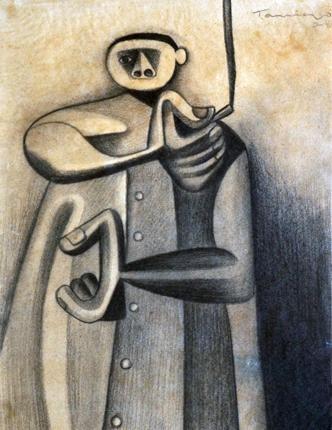 "Rufino Tamayo ""Fumador"" (The smoker) 1947"