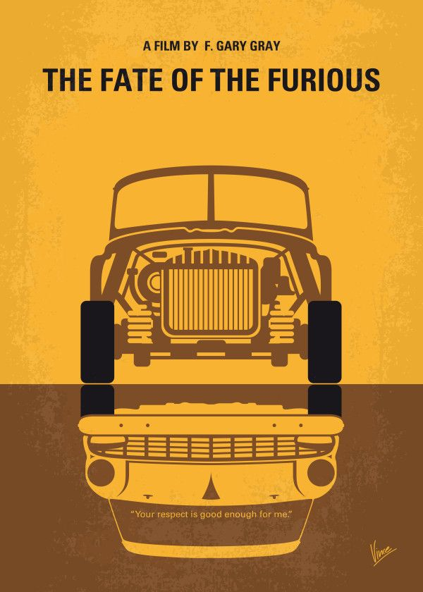 """Fast And Furious 8 Minimalist Movie Poster #Displate artwork by artist """"Chungkong Art"""". Part of an 8-piece set featuring minimalist artwork based on the popular Fast And Furious film franchise. £35 / $50 per poster (Regular size), £71 / $100 per poster (Large size) #TheFastAndTheFurious #2Fast2Furious #TokyoDrift #FastAndFurious #FastAndFurious5 #Fast5 #FastAndFurious6 #FastAndFurious7 #Furious7 #FastAndFurious8 #Fast8 #TheFateOfTheFurious #BrianOConner #DominicToretto #LettyOrtiz"""