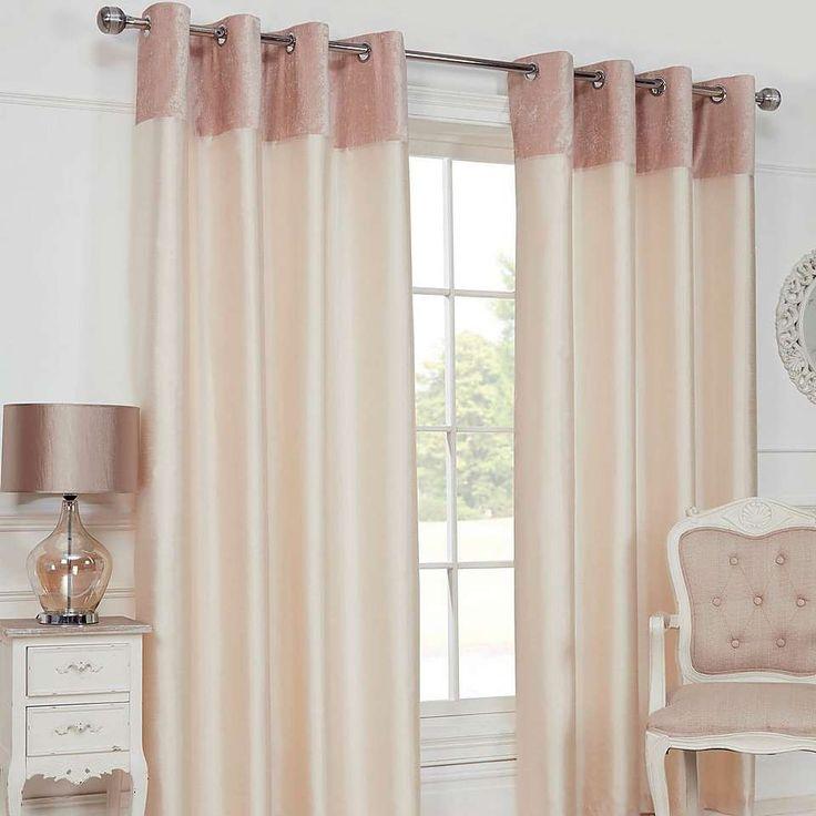 Felicity Cream Eyelet Curtains | Dunelm