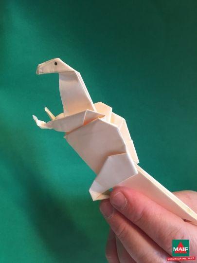 Nos Hôtes se sont montrés créatifs aussi en termes d'origamis, puisqu'en plus de la maison, du téléphone et de la voiture présents dans le kit Maif, ils en ont réalisés plein d'autres !