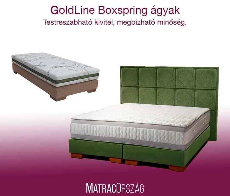 GoldLine Boxspring ágy