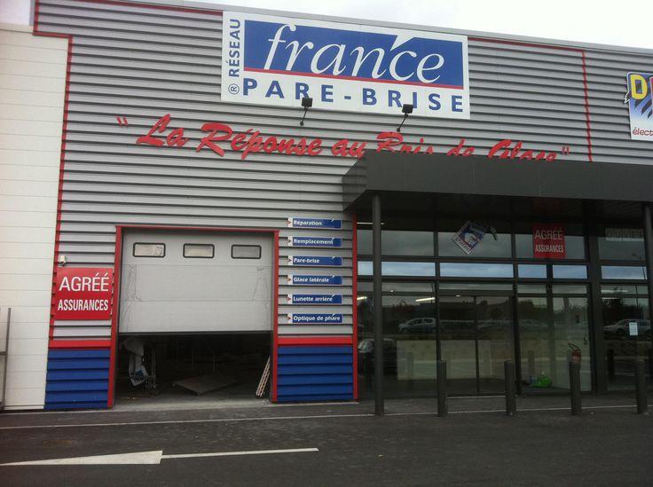 Réparation d'impact, remplacement de pare brise cassé fissuré - France Pare Brise à Arras (62000) - Informations du centre