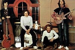 Blind Faith - Steve Winwood, Ric Grech, Ginger Baker & Eric Clapton. English blues rock band with only one album, released in 1969.