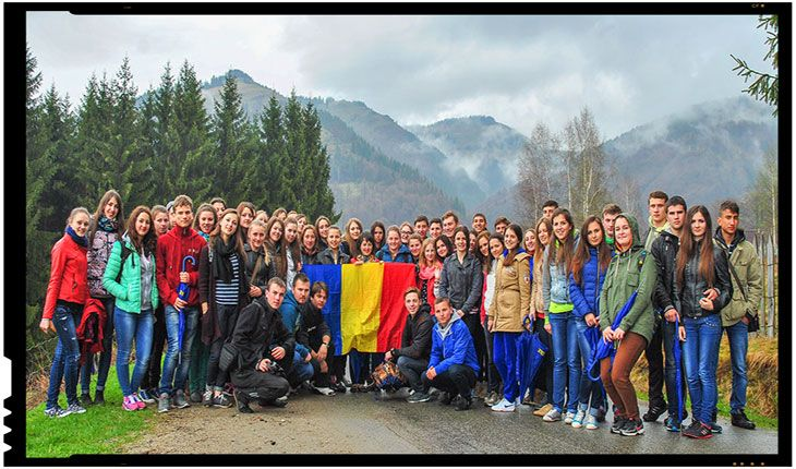 Tinerii Moldovei promoveaza Unirea cu Romania in peste 800 de sate din Republica Moldova, Foto: tinerii.md