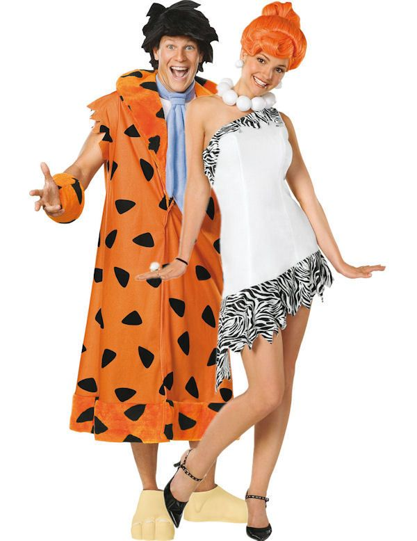 Adult Fred and Wilma Flintstone Combination
