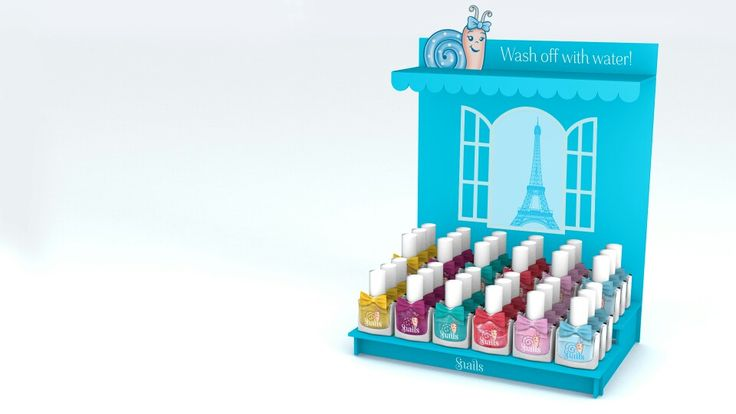 Snails washable safe-nails.com