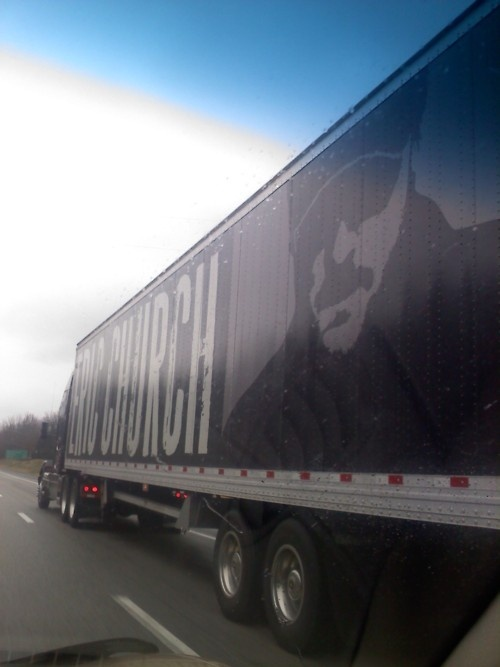 The Country Music Star Eric Chuch On The High Way Truck #AskaTicket #Country #Music