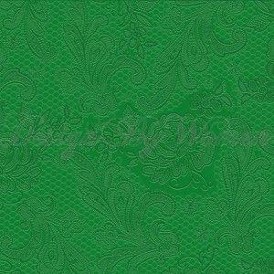 """Serwetki """"koronkowe""""-  zielone"""