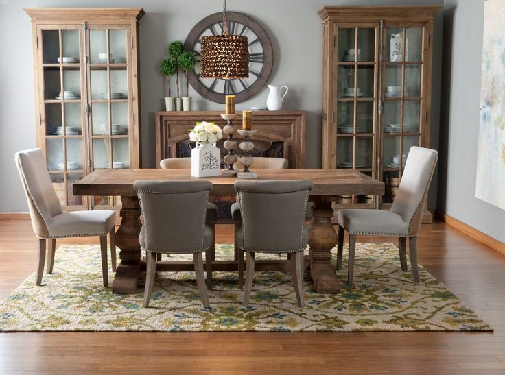 Emma 82 Reclaimed Dining Table