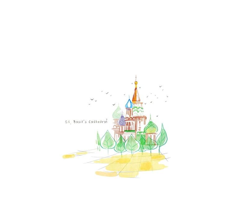 도시의색    세계 곳곳 누구나 가보길 꿈꿔보는 그곳. 수채화로 물든 아름다운 도시들을 소개합니다.   [ St. Basil's Cathedral ] 러시아적이면서도 특색 있는 건축물로 손꼽히는 곳입니다. 아름다운 색채와 무늬를 자랑하는 성 바실리 대성당      어]https://play.google.com/store/apps/details?id=com.dlto.atom.theme.atomservice13354091   블로그-http://blog.naver.com/banpang
