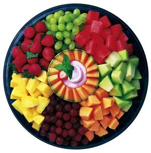 chick fil a fruit tray healthy food fruits