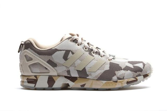 ADIDAS ZX FLUX CAMO (BROWN)